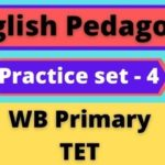 English-Pedagogy-–-WB-Primary-TET-Practice-Set-4