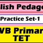 English Pedagogy - WB Primary TET Practice Set-1