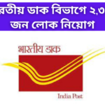 Recruitment In Indian Postal Department