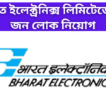 Recruitment In Bharat Electronics Limited