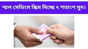 best scheme for small savings